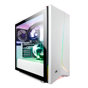 CORSAIR Carbide SPEC-06 RGB Tempered Glass Case - White
