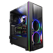 GAMDIAS TALOS M1A ARGB Gaming Case - Black