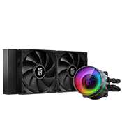 DEEPCOOL GAMERSTORM ARGB 240mm CASTLE 240 EX Liquid Cooler