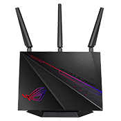 [802.11a/g/n/ac] ASUS ROG GT-AC2900 Dual Band WiFi Gaming Router-Up to 2900Mbps, dual 2.4GHz/5GHz bands