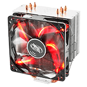 DEEPCOOL Gammaxx 400 CPU Cooler - Red