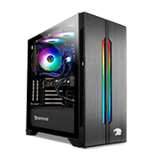 iBUYPOWER Lian Li LANCOOL ONE Tempered Glass RGB Gaming Case