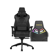 [Special Black Friday Offer - $130 OFF] - Gamdias Achilles M1 L BLACK Gaming Chair - RGB Back Lighting ($329 value)