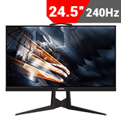 "24.5"" [1920 x 1080] GIGABYTE AORUS KD25F Gaming Monitor - 240Hz 0.5ms + AMD FreeSync-Single Monitor"