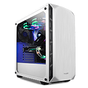 be quiet! Pure Base 500 Tempered Glass Gaming Case - White