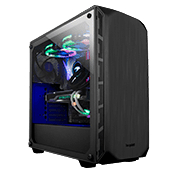 be quiet! Pure Base 500 Tempered Glass Gaming Case - Black