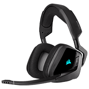 Corsair VOID RGB Elite Wireless Premium Gaming Headset - 7.1 Surround Sound-Carbon