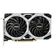 NVIDIA GeForce GTX 1660 - 6GB GDDR5 - MSI VENTUS XS (VR-Ready)