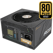 750 Watt - Seasonic FOCUS PLUS SSR-750FM - 80 PLUS Gold, Semi Modular
