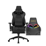 Gamdias Achilles P1 Gaming Chair w/ RGB Back Lighting - [Black]