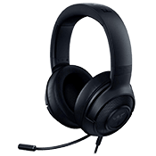 Razer Kraken X Gaming Headset - 7.1 Surround Sound-Classic Black