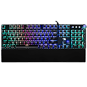 [$9] - iBUYPOWER MEK 3 RGB Mechanical Gaming Keyboard [Blue Switches] ($49 Value)-RGB Customizeable LED Backlight Keys