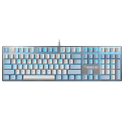 Gamdias HERMES M5 RGB Mechanical Aluminum Gaming Keyboard [Blue Switches]
