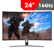 "24"" [1920x1080] Sceptre C248B-144RK Curved Gaming Monitor - 144HZ 3ms-Single Monitor"