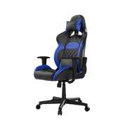 Gamdias Zelus E1 Gaming Chair - [Black/Blue]