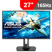 "27"" [1920x1080] ASUS VG278QR Gaming Monitor - 165Hz 0.5ms, G-SYNC Compatible-Single Monitor"