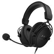HyperX Cloud Alpha S Gaming Headset, 7.1 Surround Sound-Adjustable Bass, Dual Chamber Drivers, Chat Mixer, Breathable Leatherette, Memory Foam, and Noise Cancelling Microphone - Blue