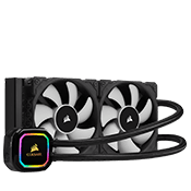 CORSAIR iCUE H100i RGB PRO XT 240mm Liquid Cooling System