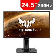 "24.5"" [1920 x 1080] ASUS TUF VG259QM Gaming Monitor - 280Hz 1ms, G-SYNC Compatible-Single Monitor"