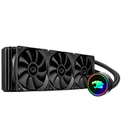 iBUYPOWER 360mm Addressable RGB Liquid Cooling System - Black