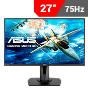"27"" [1920 x 1080] ASUS VG275Q Eye Care Gaming Monitor - 75Hz, 1ms, FreeSync/Adaptive-Sync-Single Monitor"