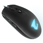 AORUS M2 Accurate 6200 DPI Optical Engine, Lightweight Esports-Grade, Ambidextrous Design, RGB Fusion 2.0 Gaming Mouse-AORUS M2