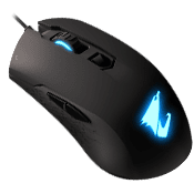 AORUS M4 RGB 6400 DPI Optical Sensor Fully Programmable and Saved Onboard Gaming Mouse-AORUS M4