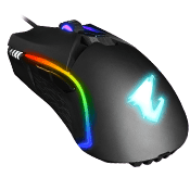 AORUS M5 RGB 16000 DPI Optical Sensor Fully Programmable and Saved Onboard 16.7M Customizable Lighting Gaming Mouse-AORUS M5