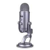 Blue Yeti USB Microphone - Space Grey