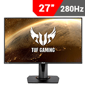 "27"" [1920x1080] ASUS TUF VG279QM Gaming Monitor - 280Hz 1ms-Single Monitor"