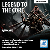 [FREE Game Bundle] - Get the Intel Q2 Survival Gaming Bundle-w/ Purchase of Intel Core i5/i7/i9