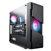 AeroCool Menace Saturn RGB Gaming Case - Black