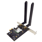 KILLER WiFi6 AX1650 WIRELESS BLUETOOTH PCIE Wireless Card
