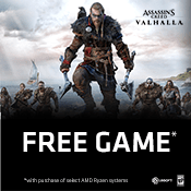 [Receive Game] - Get Assassin's Creed: Valhalla-w/ Purchase of AMD Ryzen 7 or Ryzen 9 Processors
