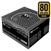 650 Watt - Thermaltake Toughpower GF1 - 80 PLUS Gold, Full Modular