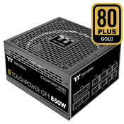 850 Watt - Thermaltake Toughpower GF1 - 80 PLUS Gold, Full Modular