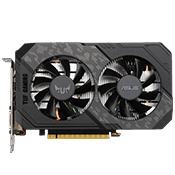 NVIDIA GeForce GTX 1660 SUPER - 6GB GDDR6 - ASUS TUF GAMING (VR-Ready)