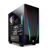 iBUYPOWER Trace 4 Tempered Glass ARGB Gaming Case