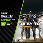 [Receive Game Bundle] - Get Rainbow Six Siege Gold Edition-w/ Purchase of NVIDIA RTX 20 Series Graphic Cards
