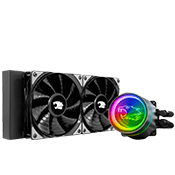 iBUYPOWER DEEPCOOL GAMERSTORM RGB 240mm CASTLE 240EX Liquid Cooler
