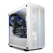 be quiet! Pure Base 500DX Tempered Glass Gaming Case - White