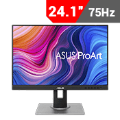 "24"" [1920x1200] ASUS ProArt Display PA248QV Professional Monitor - 75Hz 5ms-Single Monitor"