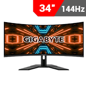 "34"" [3440x1440] GIGABYTE G34WQC Gaming Monitor - 144Hz 1ms-Single Monitor"