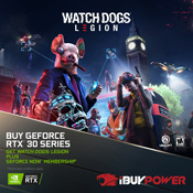[Receive Game Bundle] - Get Watchdogs: Legion + 1 Year GeForce NOW Founders Membership-w/ Purchase of NVIDIA RTX 30 Series Graphic Cards