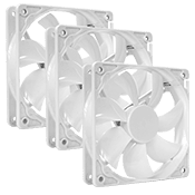 3x [WHITE] 120mm Fan