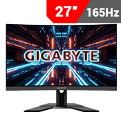 "27"" [2560x1440] GIGABYTE G27QC Gaming Monitor - 165Hz 1ms-Single Monitor"