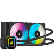 CORSAIR iCUE H100i ELITE CAPELLIX 240mm Liquid Cooler