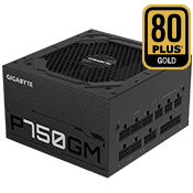 750 Watt - GIGABYTE GP-P750GM - 80 PLUS Gold, Fully Modular