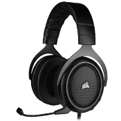 Corsair HS50 PRO Stereo Gaming Headset [Carbon]-Carbon