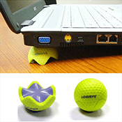 Laptop Stand-Golf Ball Style